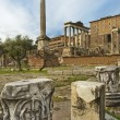 Eternal city - ancient Rome - Stock Photo