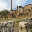 Eternal city - ancient Rome — Stock Photo