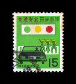 Symbolic image of road safety — Stock Photo