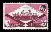 Ethiopian hockey, ganna — Stock Photo