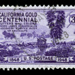 Centenary of California Gold Rush — Stock Photo
