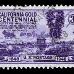 Centenary of California Gold Rush — Stock Photo