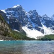 Stock Photo: Lake Agnes, National Park, Banff Alberta, Canada