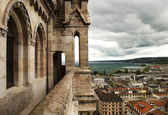 View of Geneva from Cathedral Saint Pierre, Switzerland — Stock Photo