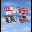 Flags of the Great Britain — Stock Photo