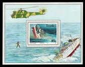Affondamento dell'oceanos — Foto Stock