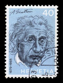 Albert Einstein, theoretical physicist — Stock Photo