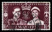 Coronation of George VI and Elizabeth — Stock Photo