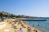 Cannes beaches — Stock Photo