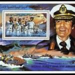 Постер, плакат: Colonel Muammar Gaddafi