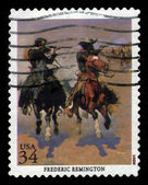 Picture by Frederic Remington — Stock Photo