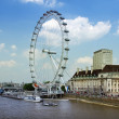 London eye, 443 ft tall — Stock Photo