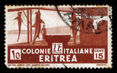 Eritrea, žralok rybolovu, 1934 — Stock fotografie