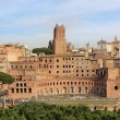 Forum of Trajan in Rome — Stock Photo