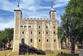 ロンドン塔で白いタワー — ストック写真
