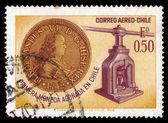 硬币与费迪南德六的肖像 — 图库照片