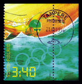 Summer olympic games atlanta - swimming — Stock Photo