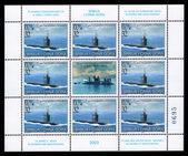 Sous-marin flotte de serbie et de monténégro — Photo