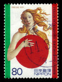 The birth of Venus (Botticelli) — Stock Photo