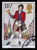 Postman, allgemeine post, c 1839, uk — Stockfoto