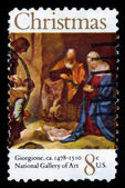 Adoration of the Shepherds by Giorgione — Stock Photo