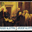 Declaration of Independence by John Trumbull — Stock Photo