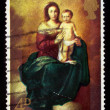 Madonna and Child, by Bartolome Esteban Murillo — Stock Photo