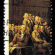 ������, ������: Declaration of Independence fragment of a painting by John Trumbull