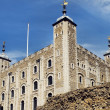 The White Tower at the Tower of London — Stock Photo
