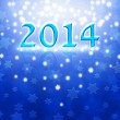 New Year background with Magen David stars — Stock Photo