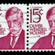 Oliver Wendell Holmes,americpoet and physician — Stock Photo #34084021