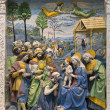 Andrea della Robbia , Adoration of the Magi — Stock Photo