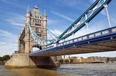 Central span of the Tower Bridge in London, UK — Stock fotografie
