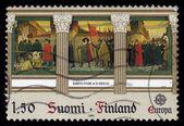 Fresco by Albert Edelfelt, Finland — Foto Stock