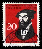 John Calvin, french theologian — Stock Photo