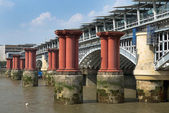 Old Blackfriars bridge, London — Stock Photo