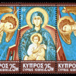 Triptych of the Madonna and Child — Stock Photo