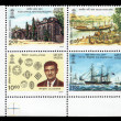 Stock Photo: Postal history of India