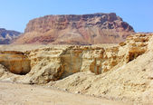 Mountainous Judean Desert near the Dead Sea, Israel — Stock Photo