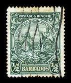 Portrait of George V, Barbados — Stock Photo