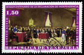 150 years of the Declaration of Independence, July 5 1811-1961, Venezuela — Stok fotoğraf