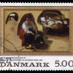 Постер, плакат: Painting by danish painter Nicolai Wilhelm Marstrand