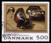 Painting by danish painter Nicolai Wilhelm Marstrand — Stock Photo