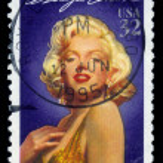 Actress Marilyn Monroe — Stock Photo #43515847