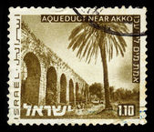Aqueduct near Akko, Israel — Stock Photo