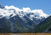 Fabulous landscape in New Zealand — Stock Photo