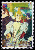 Painting by french painter Henri De Toulouse-Lautrec — Stock Photo