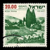 Rosh Pinna, landscapes of Israel — Stockfoto