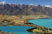 Lake Wakatipu, Queenstown, New Zealand — Stock Photo