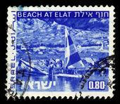 Beach at Eilat — Stock Photo